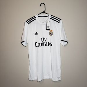New! Men's Adidas Real Madrid Home Jersey || Sz: L